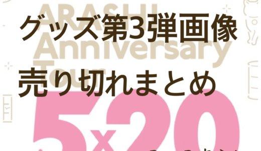 【全画像あり】嵐5×20グッズ第3弾!値段や売り切れなど購入情報まとめ!